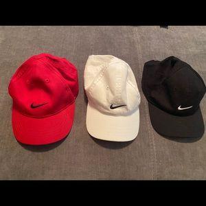 Nike infant baseball hats